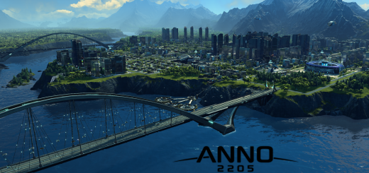 Anno 2205 Screen mit Logo